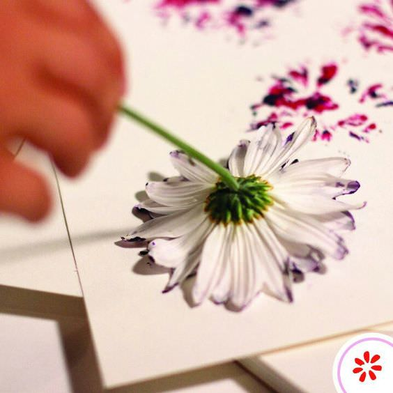 Flower Painting Pin Success Story and Tutorial DIY + Crafts