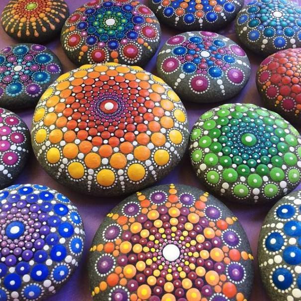 How Handmade Painted Stones Went Viral Art + Graphics