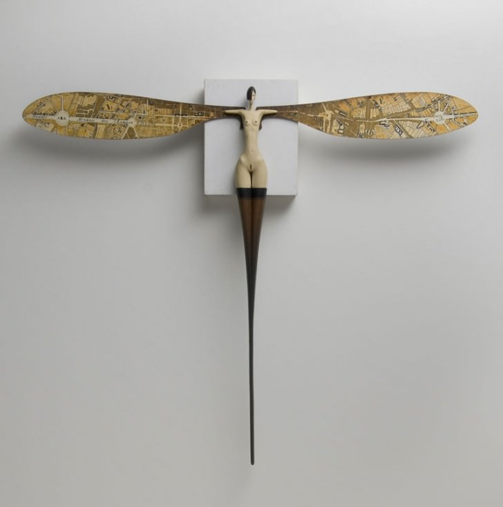 Surreal Wood Sculptures by John Morris Art + Graphics