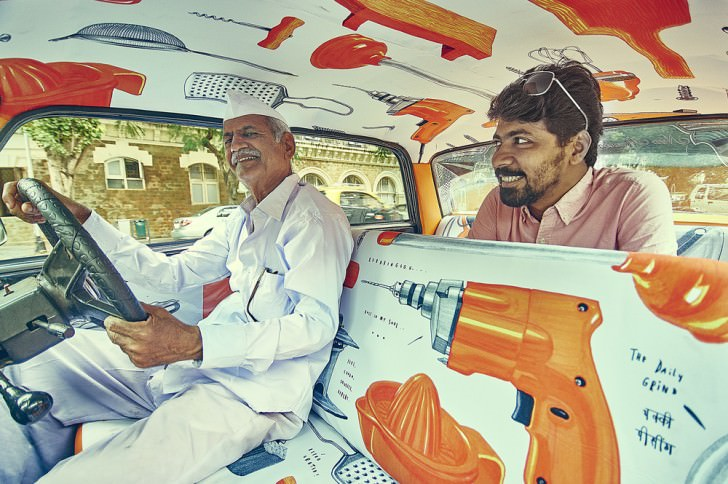 Interior Design for Indian Taxis Design