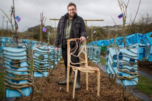 The man who grows natural chairs