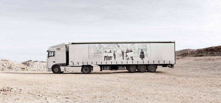 Truck Art Project in Spain Art + Graphics