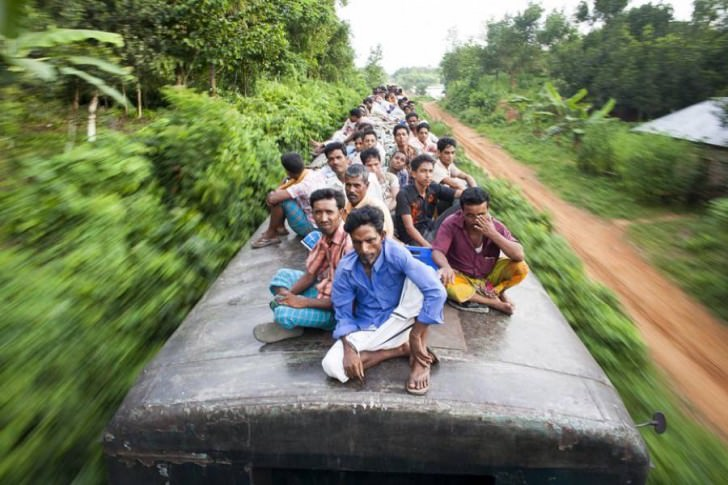 Travel on Train Tops in Bangladesh by Gmb Akash Photography