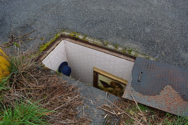 Secret Rooms Hidden in Manholes of Milan Streets Art + Graphics