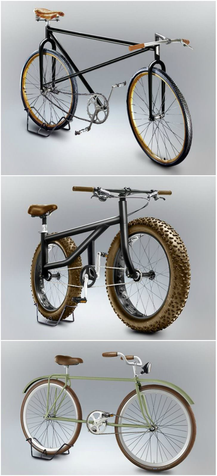 Velocipedia: Imagine That Bikes Designed by Amateurs Exist in Real Life Bike Design