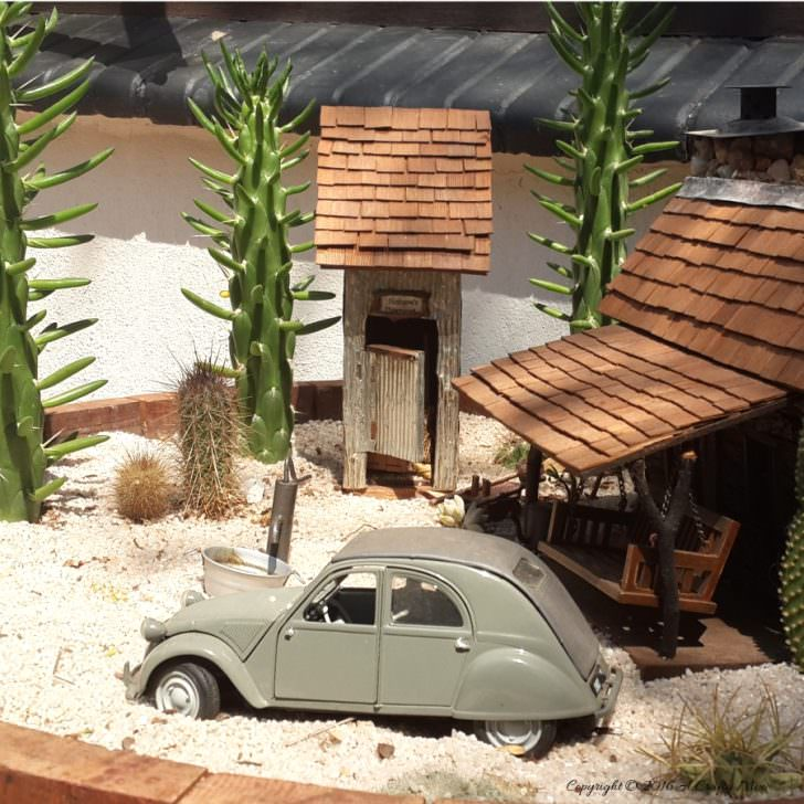 Make a Desert Fairy Garden DIY + Crafts