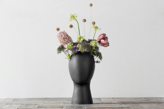 Brilliant Putting Plants In A Head Shaped Vase Gift