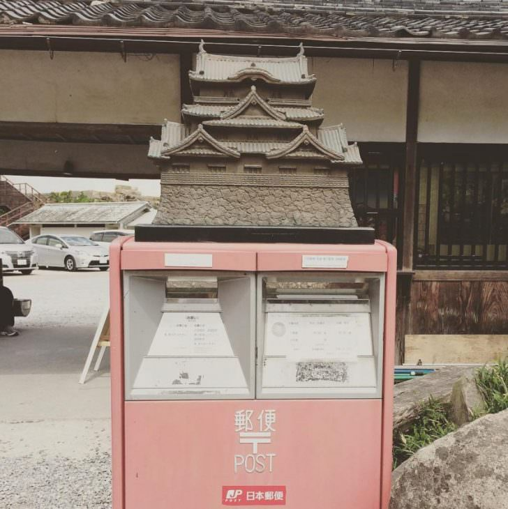 Original Mailboxes From Japan Funny