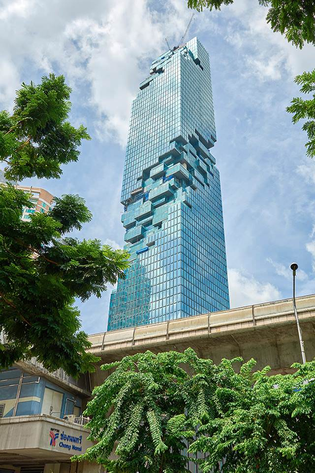 Mahanakhon, the New Art Design Skyscraper of Bangkok Architecture + Interiors