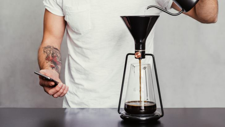 The First Smart Coffee Instrument Creative Fooding