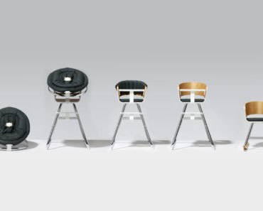 The Decorative Object of the Day: an Evolutionary 100% Design Chair for Children