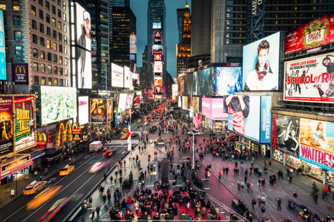 The Brilliant Simplicity of New York's New Times Square Design