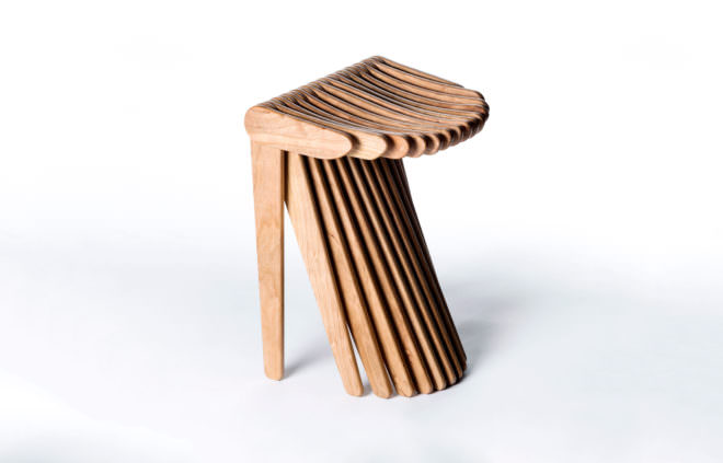 The Lowly Folding Chair, Reimagined With Algorithms Design