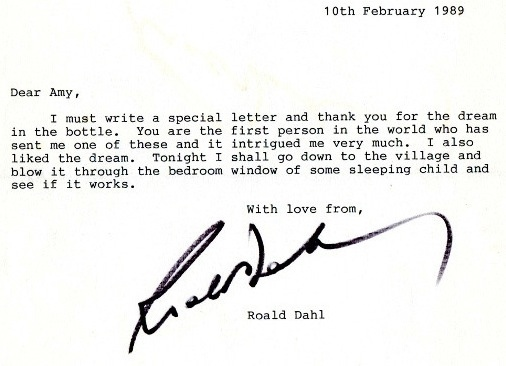 Roald Dahl's Letter To A Young Girl Will Make Your Heart Melt Photography