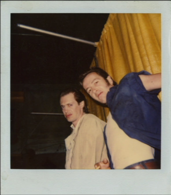 This Photo Of Steve Buscemi And Joe Strummer Hanging Out Together Might Be The Coolest Thing Ever Photography