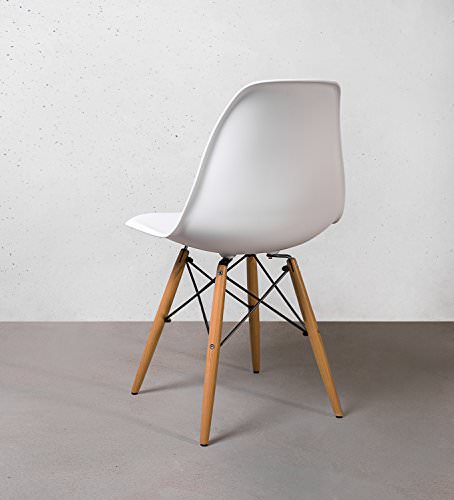 Buschman mid century modern dining room chairs eames for Amazon mid century modern furniture