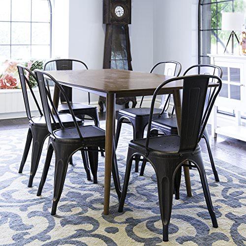 We Furniture 60 Quot Mid Century Wood Dining Table Acorn