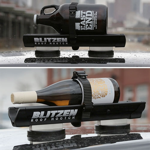 Blitzen: Roof Hooch – The Rooftop Beverage Chiller By Deeplocal! For Those Of You In Colder Climates, You Can Strap A Bo… – #62991 Design