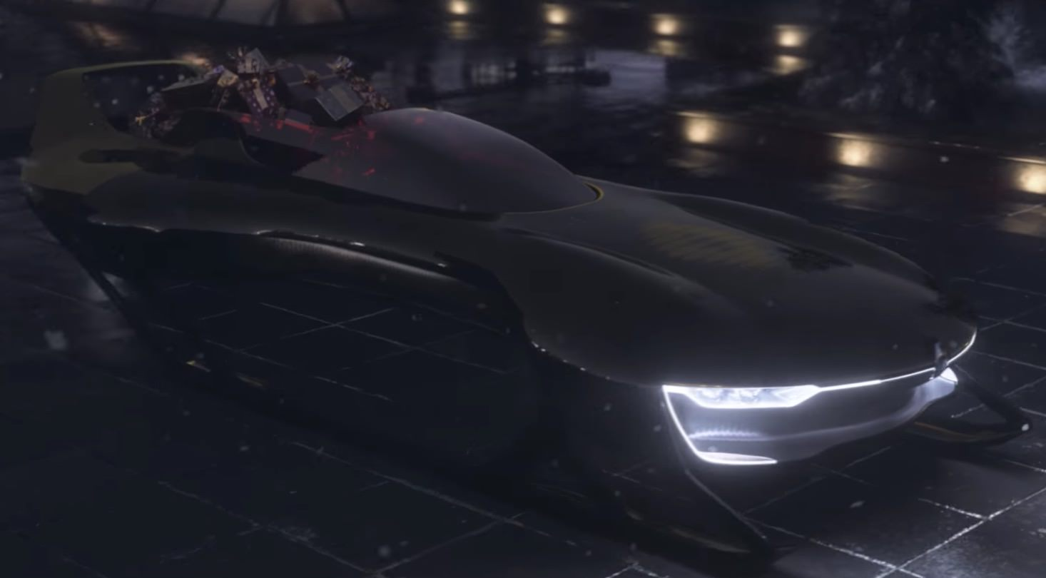 Supersonic Santa Sleigh by Renault Sport – Fubiz Media Design