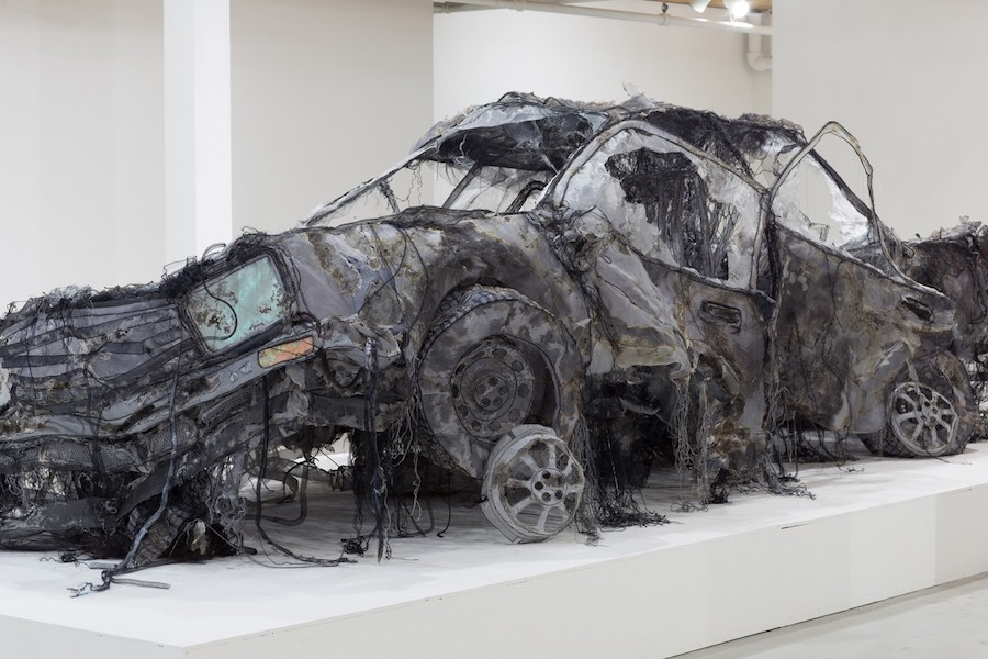 Astonishing Car Installation Made with Easily Materials – Fubiz Media Design