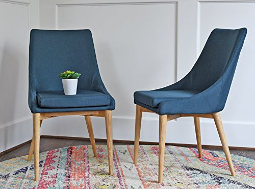 The SET OF 2 JUNIPER DINING CHAIRS ...