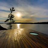 Gorgeous Canadian Grotto Sauna – Fubiz Media Design
