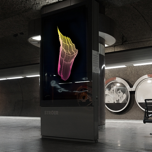 "The Artist Fabian Gatermann Transformed The Metro Station ""Schweizer Platz"" In Frankfurt Into A Light Installation Cal… – #63137 Design"
