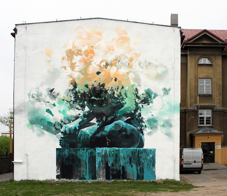 This Artist Combines Street Art and Fine Arts – Fubiz Media Design