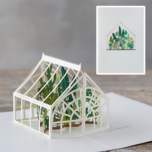 Greehouse Pop Up Card – #63205 Design