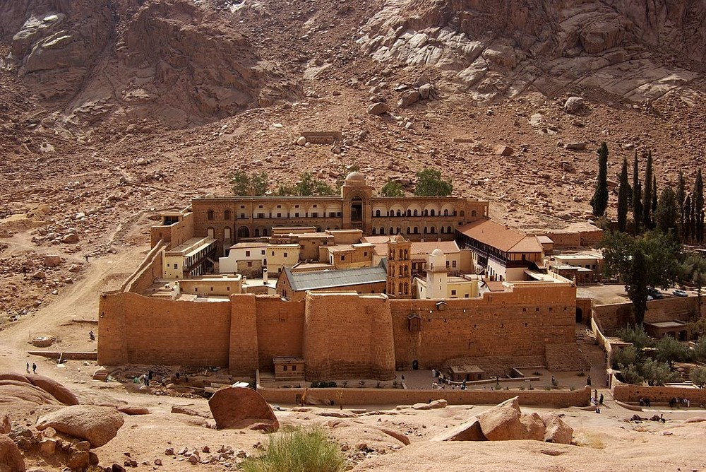 Saint Catherine's Monastery And The World's Oldest Library Photography