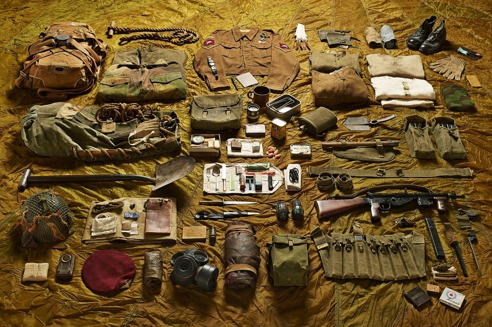 What Soldiers Carried To Battlefield Through The Ages Photography