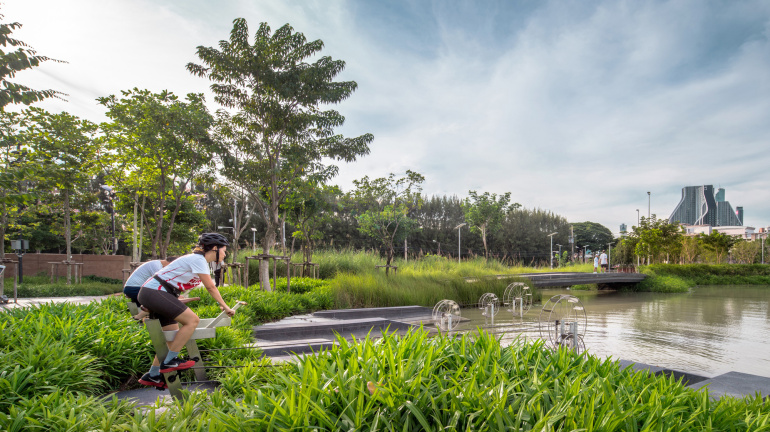 When Bangkok Floods, This Park Does Something Amazing | Geek Universe
