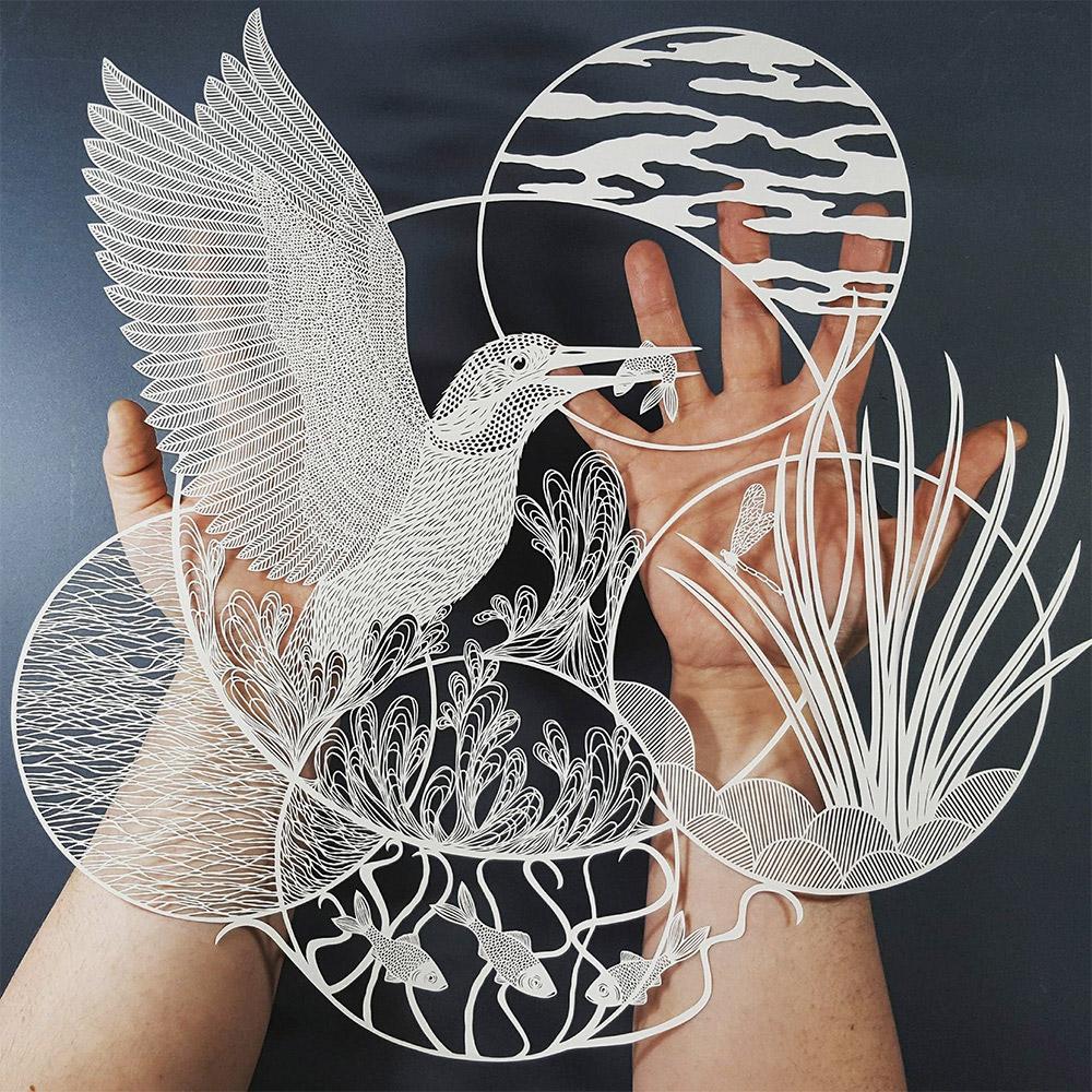 Impressive Art of Paper Cutting – Fubiz Media Design
