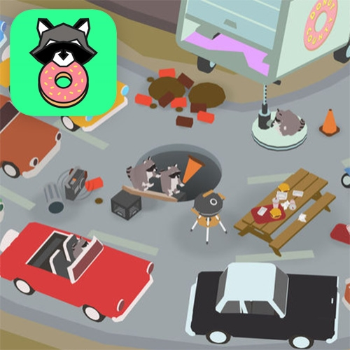 "Donut County! A New Game By Ben Esposito Comes Out Today. This Is ""A Story-filled Physics Puzzle Game Where You Play As … – #63333 Design"
