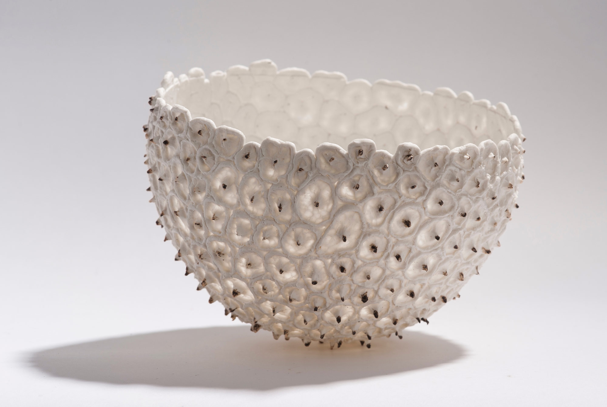 Porcelain Bowls Made with Balloons Design