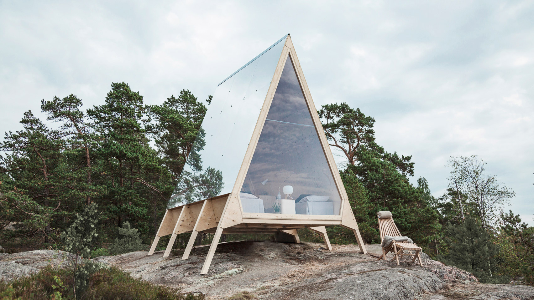 Minimalist Cabin Without Any Ecological Footprint – Fubiz Media Design