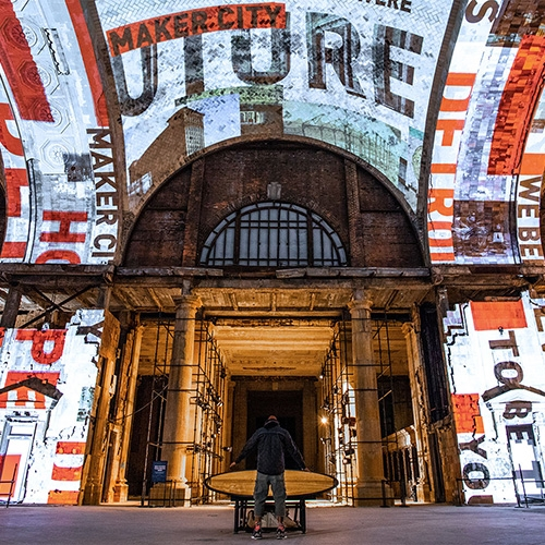 """For Detroit"" Is An Interactive Art Installation And Interior Experience By Red Paper Heart For The Open House, Ford Mot… – #63371 Design"