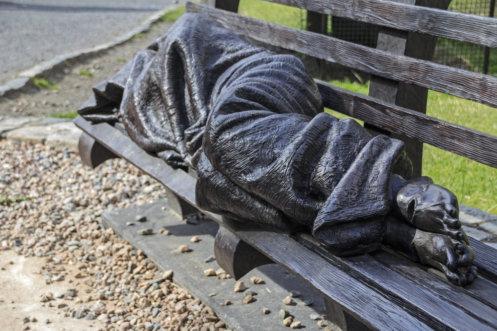 The Homeless Jesus Sculpture | Amusing Planet Photography