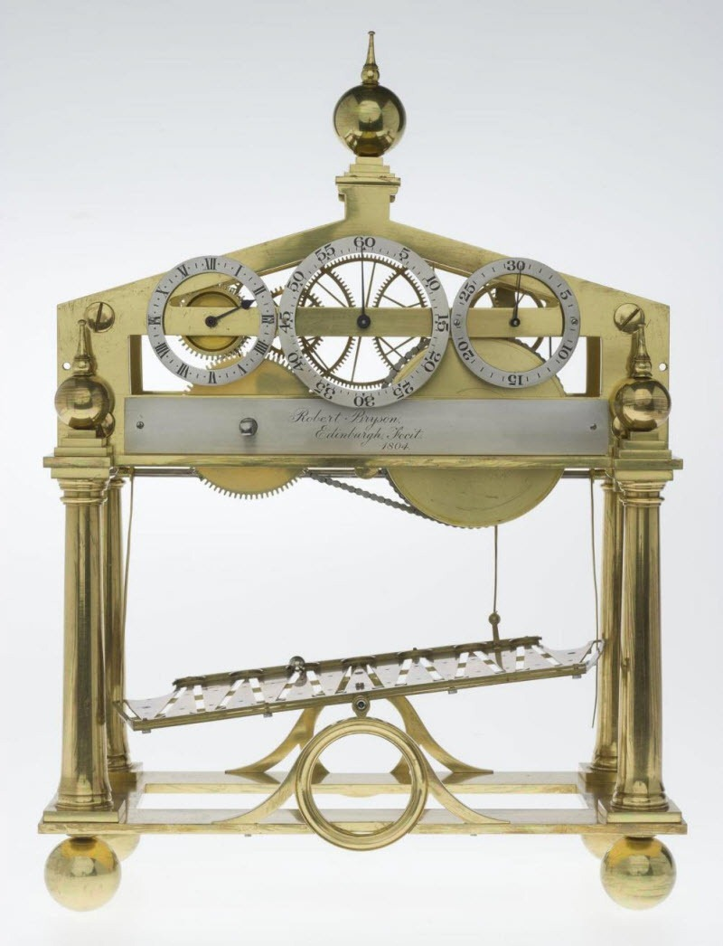 Congreve Rolling Ball Clock | Amusing Planet Photography