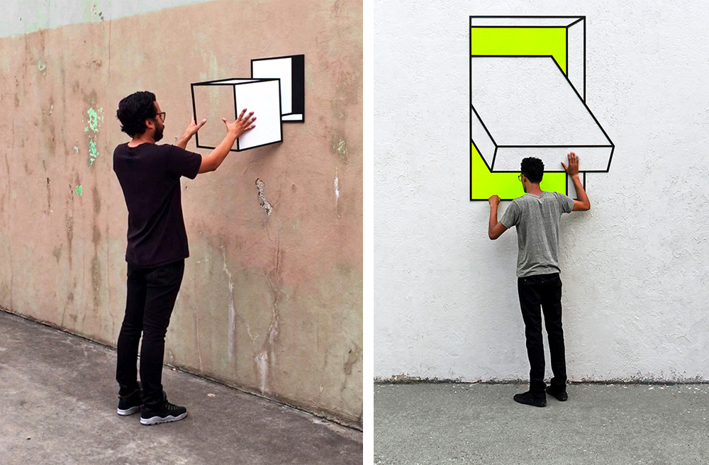 Aakash Nihalani's Optical Illusions – Fubiz Media Design