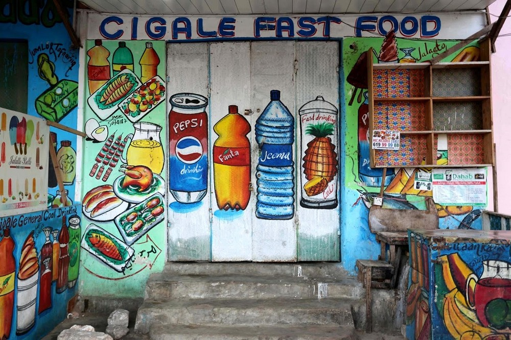 Somalia's Hand Painted Storefronts | Amusing Planet Photography