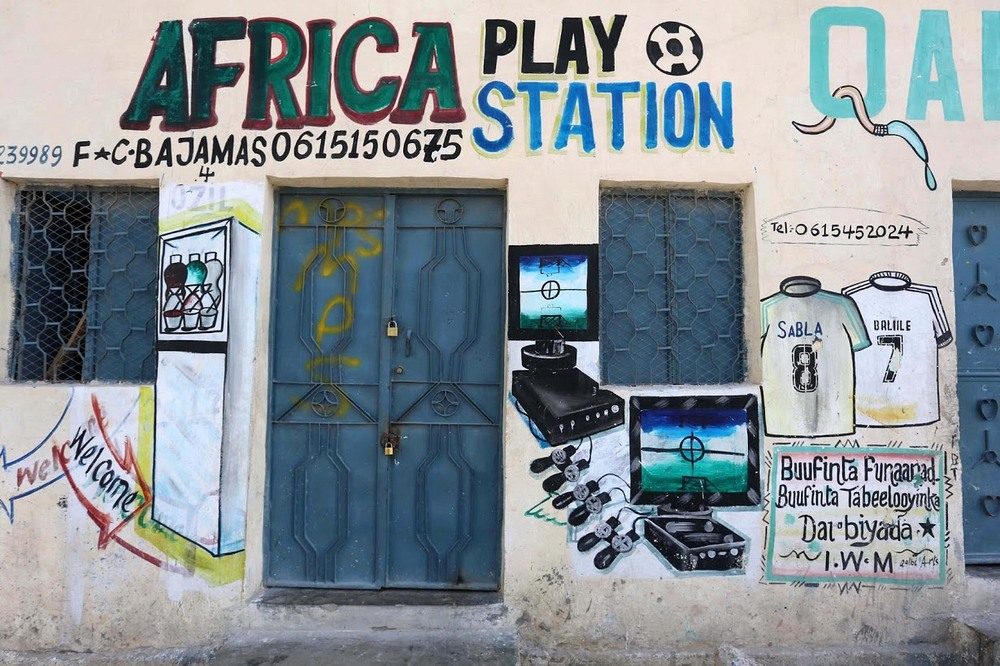 Somalia's Hand Painted Storefronts   Amusing Planet Photography