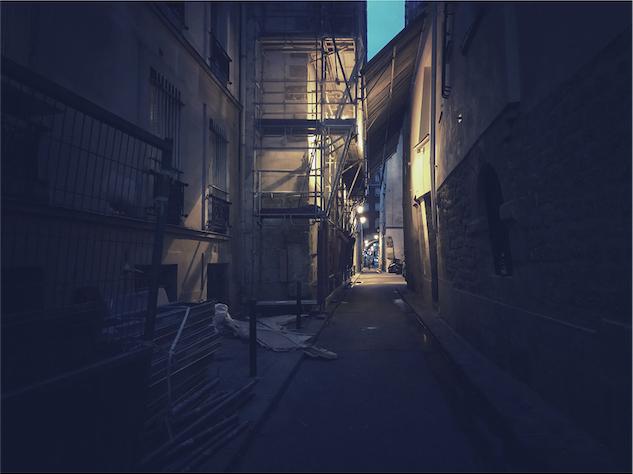 Paris By Night By Loic Le Quéré – Fubiz Media Design