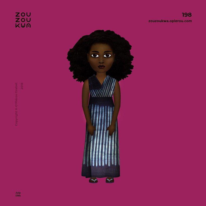 A Designer Created 365 African Emojis – Fubiz Media Design
