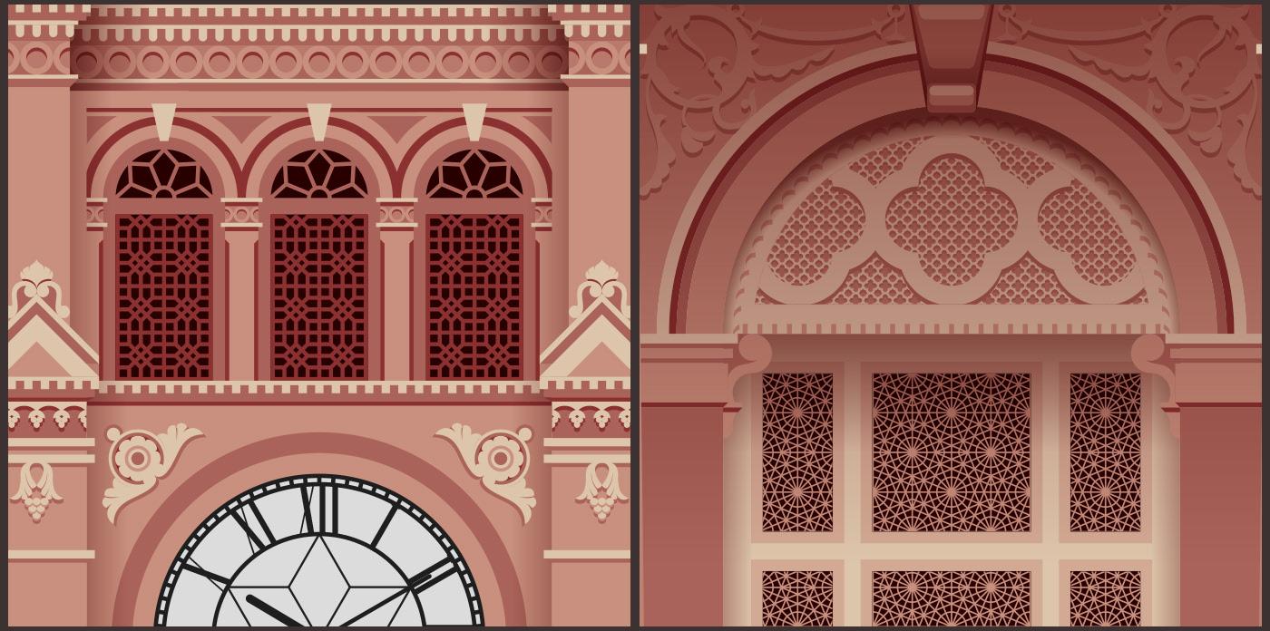 Amazing Tribute to Pakistan Architectural Buildings – Fubiz Media Design