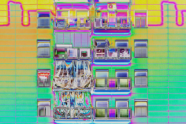 The Psychedelic Version of Milan – Fubiz Media Design