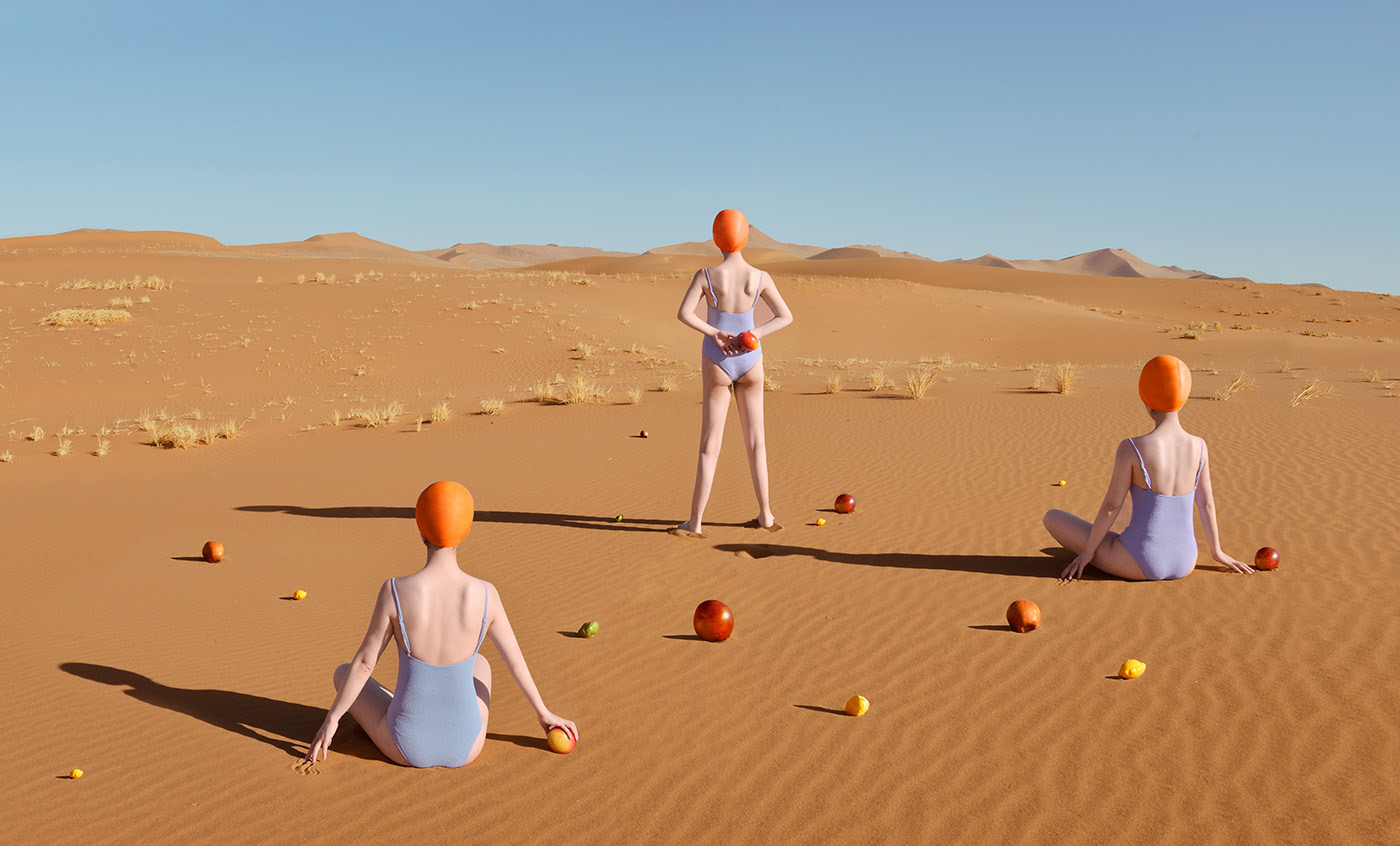 Surrealist Series of Food in the Desert – Fubiz Media Design