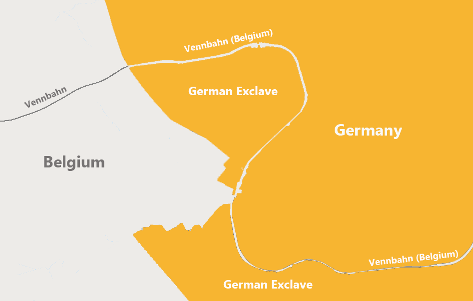 Vennbahn: The Railway That Created a Peculiar Border Problem Photography