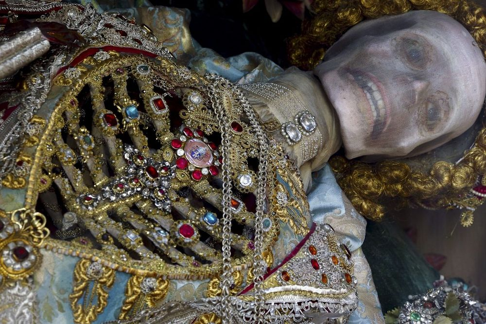 The Unknown Martyrs Who Became Catacomb Saints Photography