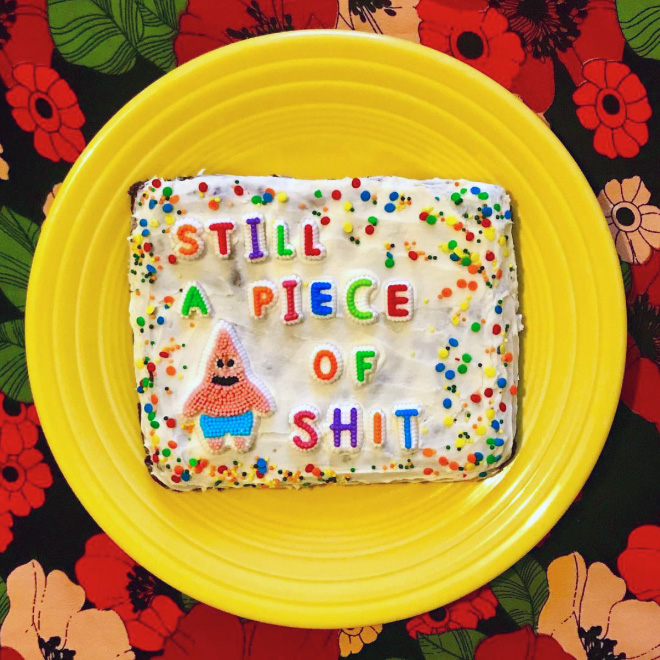 Delicious Cakes Inspired by Internet Trolls' Insults – Fubiz Media Design